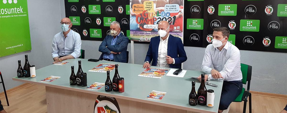 "Torna ""GualdoCamp 2021 – Uniti si Vince"""